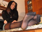 Valentina: italian beauty with breathtaking feet